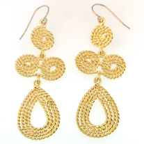 Coiled Rope Earrings