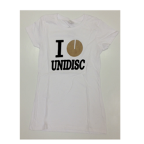 Women's I Heart Unidisc - White