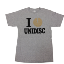 I Heart Unidisc - Grey