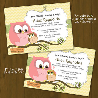 owl baby shower invitation mommy and baby owl splashbox