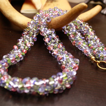 Wisteria Lane - Beaded Necklace