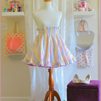 Rainbow Sherbert Skirt