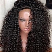 Pretty curly human hair wig  - Thumbnail 1