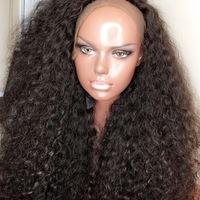 Pretty long human hair wig (handmade)  - Thumbnail 4