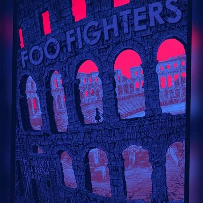 Foo fighters - pula arena - regular