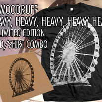 JT Woodruff-Shirt/CD Combo Heavy, Heavy, Heavy, Heavy Heart