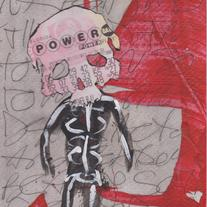 POWER NINE - original painting by Matt Deterior 9
