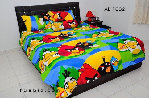 Angry Birds Queen Size Bedding Set Ab1002 On Storenvy