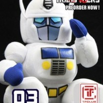 Cute Hand Made Plush Transformers Doll, Ultra Magnus
