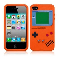 Orange Nintendo Case (iPhone 4/4s)
