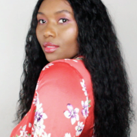Natural Wave Handmade Human Hair Wig - Thumbnail 2