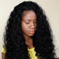 Handmade human hair easy curly wig - Thumbnail 2