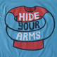 Hide Your Arms Men's Logo Tee - Thumbnail 2