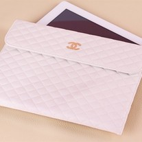 iPad 2 Design #68, New Luxury Designer Sheep Leather  Impact Sleeve Case Bag For iPad 2 & New iPad!