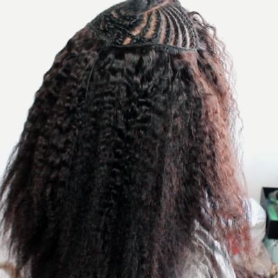 Glow-out bundle human hair wig