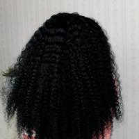 Extra Beauty Curly Human Hair Wig glue-less handmade wig  - Thumbnail 3