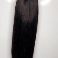 30 inches Silky Straight Raw Human Hair Closure  (Handmade Wig) - Thumbnail 4