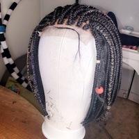 Light bob wig (everyday handmade braided wig) - Thumbnail 1