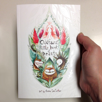 Sale-oddfauna's little book of beasts