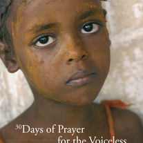 A Voice for the Voiceless: 30 Days of Prayer for the Voiceless :: The Book