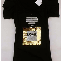NWT Moschino Women's Top Black