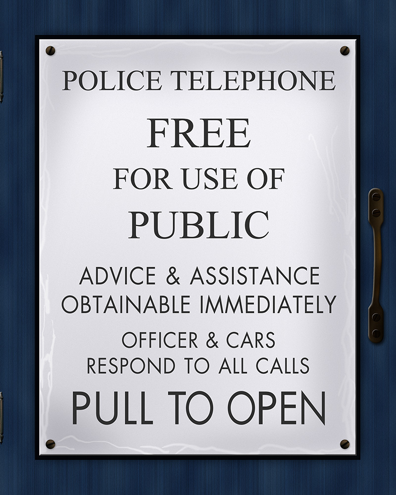 Astounding image for tardis sign printable