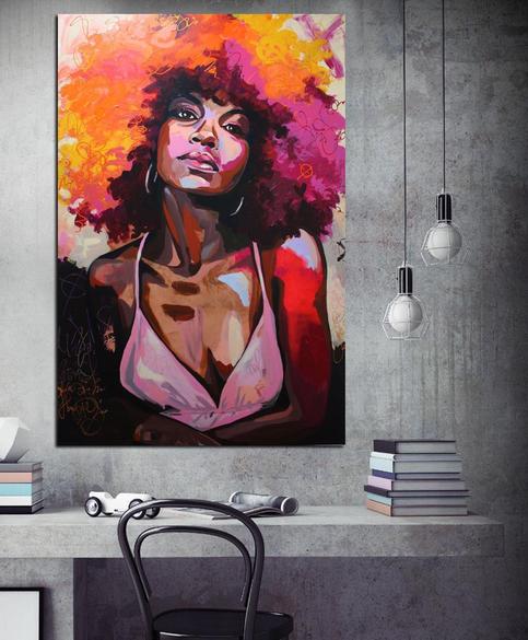 African women, Beautiful black women, Black women art