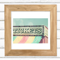 Get Your Tickets Luster Photo Print 5x7