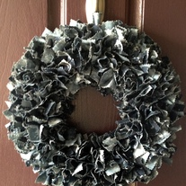 Navy BDU Base Wreath-Customizable