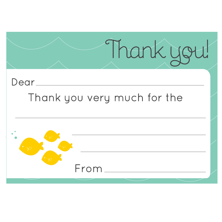 free printable thank you cards