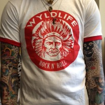 Indian Head Ringer Tee