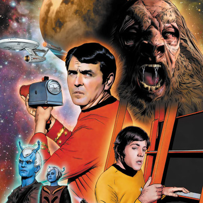 Star trek: the original series: burden of knowledge #3 artist print