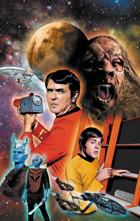 star trek  the original series  burden of knowledge  3 artist print  u00b7 joe corroney art store