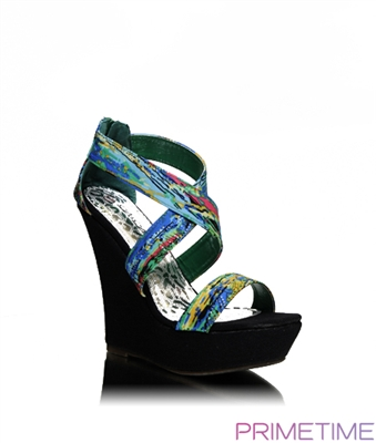 Strappy wedge sandal chaussure boite boutique online store - Boite chaussure transparente ...