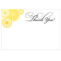 printable wedding thank you | kiku