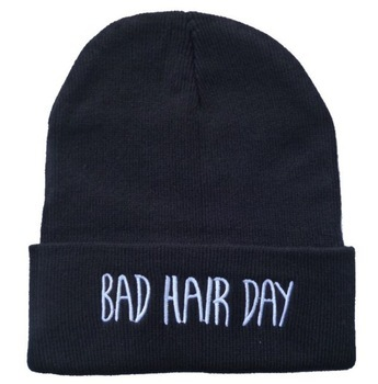 bad hair day fashion beanie cap