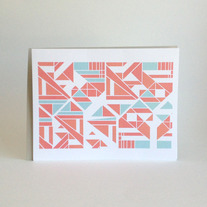sankaku folded notecards