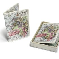Travel Map Card Holder