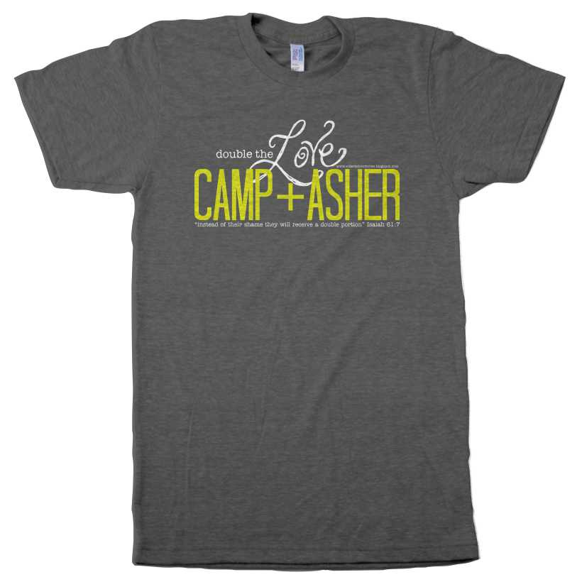 Camp Asher Kids T Shirt Small On Storenvy