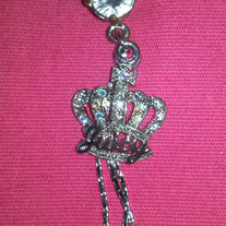 Juicy Couture Crown Belly Ring