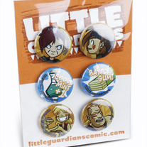 Yowza Village Button Pack 1