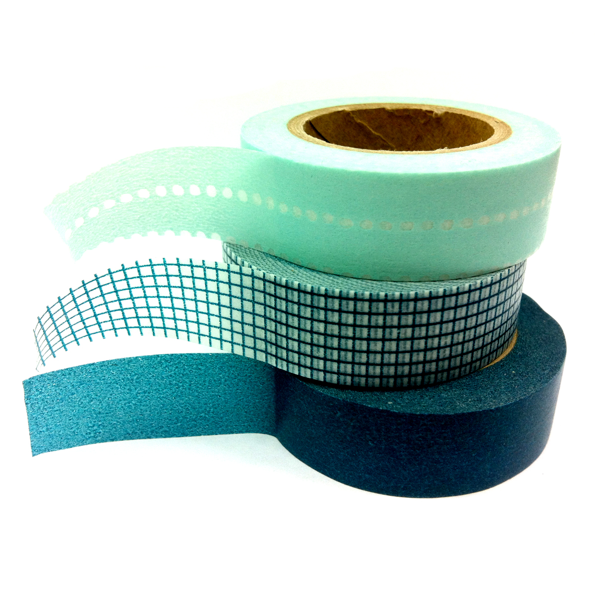 washi tape basic set teal maeday online store powered by storenvy. Black Bedroom Furniture Sets. Home Design Ideas