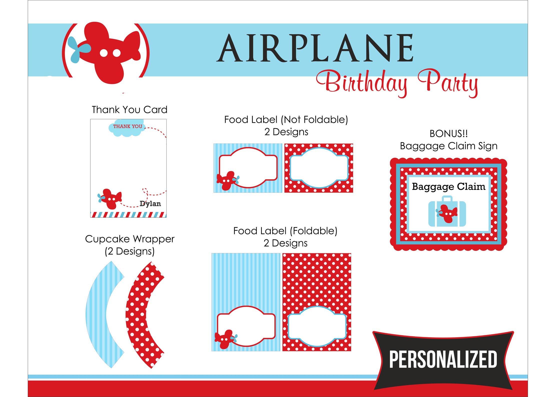 Children Birthday Invitation | Themed Party | Stickers | Baby Full ...