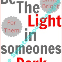 Be the light digital print file
