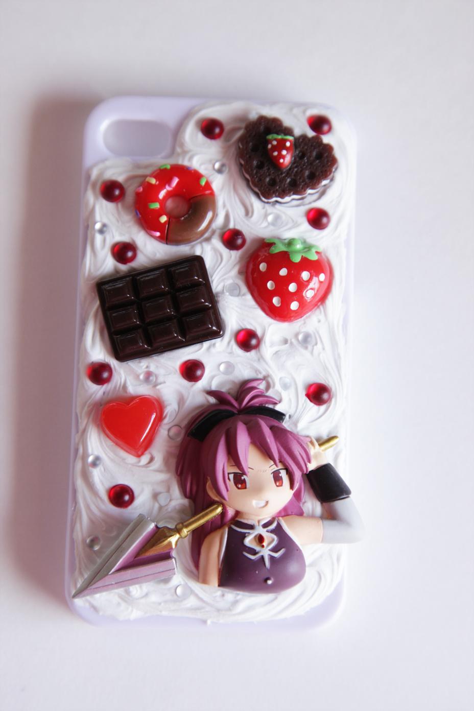 Decoden Iphone Case Kyoko sakura kawaii decoden