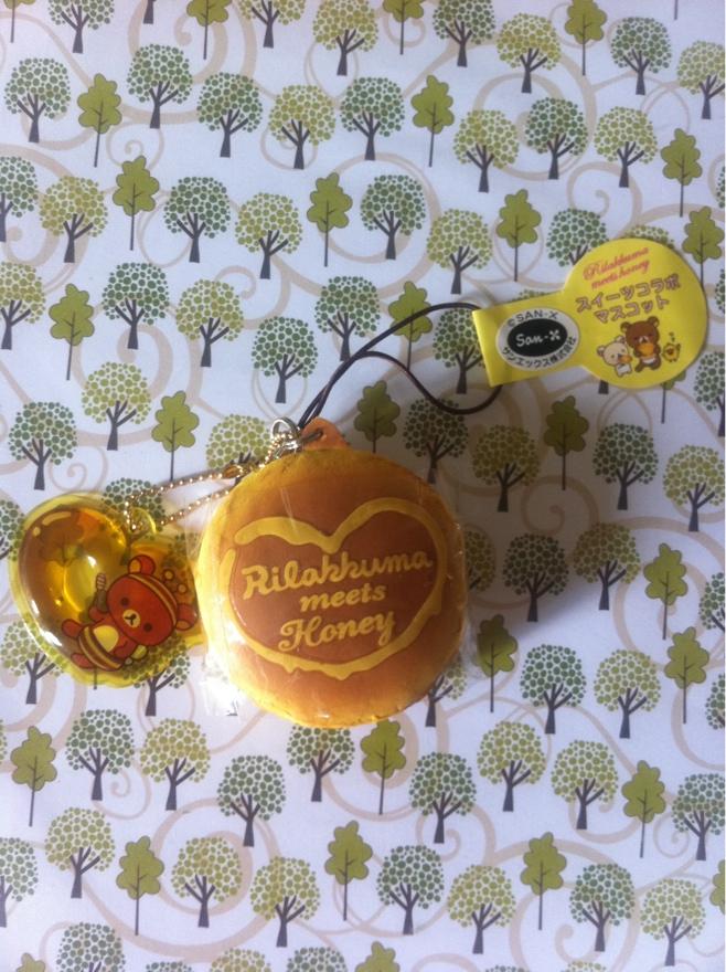 Rilakkuma Tag Squishy : The Kawaii Hut Rare Rilakkuma Tag Honey Pancake Squishy Online Store Powered by Storenvy
