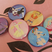 Mane 6 Button Pack