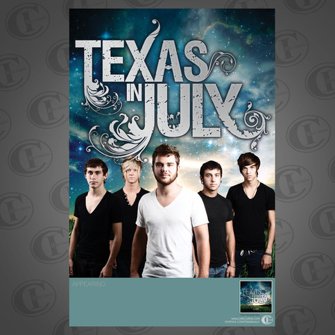 Texas In July I Am Poster 183 Ci Records 183 Online Store
