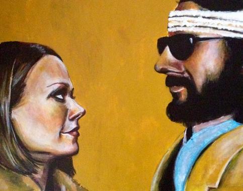 Margot and Richie Tenenbaum Art Print on Storenvy