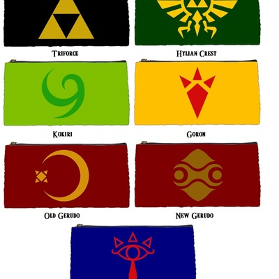 Zelda Symbol Sling Bags · Much Needed Merch · Online Store